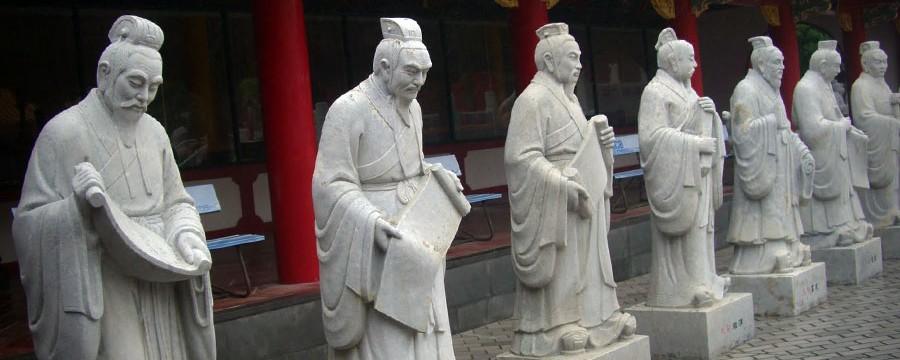 Confucius statues