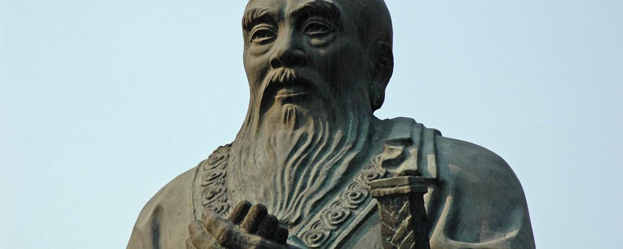 Statue of Confucius - An Autobiography of Confucius