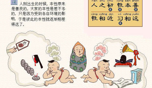 Confucius Analects – Men's nature are alike